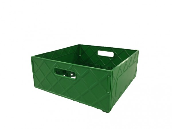 Kiste grün für Trinkgläser 0,3l - 25 Gläser je Box