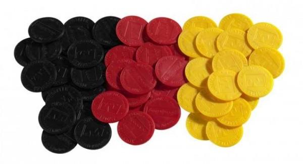 Pfandmarken schwarz (je 250 Stück im Beutel)